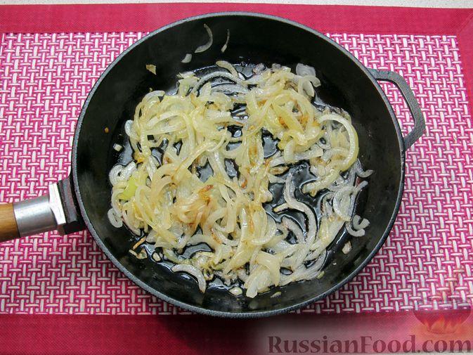 Фото приготовления рецепта: Несладкие ленивые вареники с томатным соусом - шаг №10