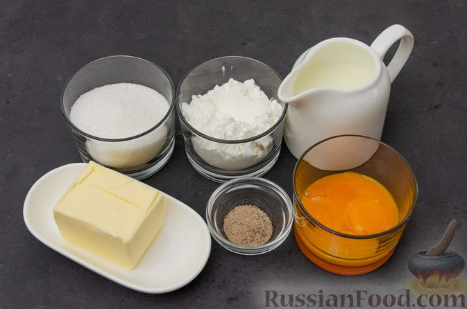 "Фото приготовления рецепта: Торт ""Наполеон"" на сковороде - шаг №1"