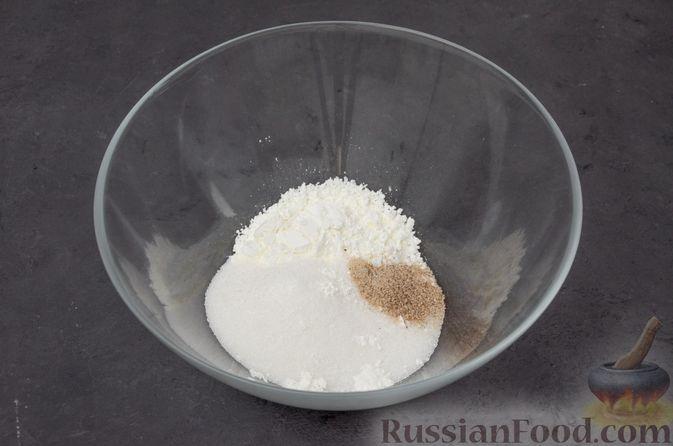 "Фото приготовления рецепта: Торт ""Наполеон"" на сковороде - шаг №3"