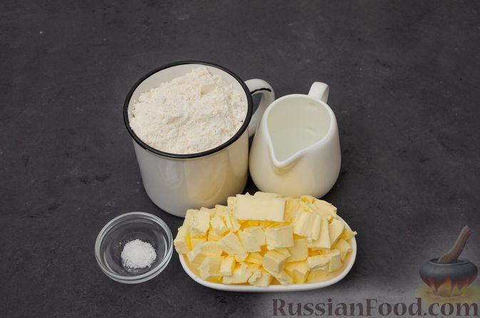 "Фото приготовления рецепта: Торт ""Наполеон"" на сковороде - шаг №9"