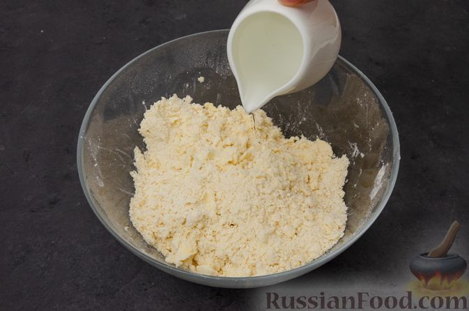 "Фото приготовления рецепта: Торт ""Наполеон"" на сковороде - шаг №12"