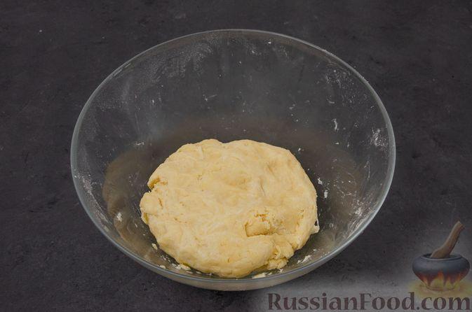 "Фото приготовления рецепта: Торт ""Наполеон"" на сковороде - шаг №13"