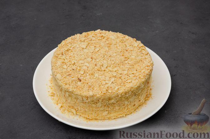 "Фото приготовления рецепта: Торт ""Наполеон"" на сковороде - шаг №24"