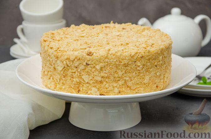 "Фото приготовления рецепта: Торт ""Наполеон"" на сковороде - шаг №25"