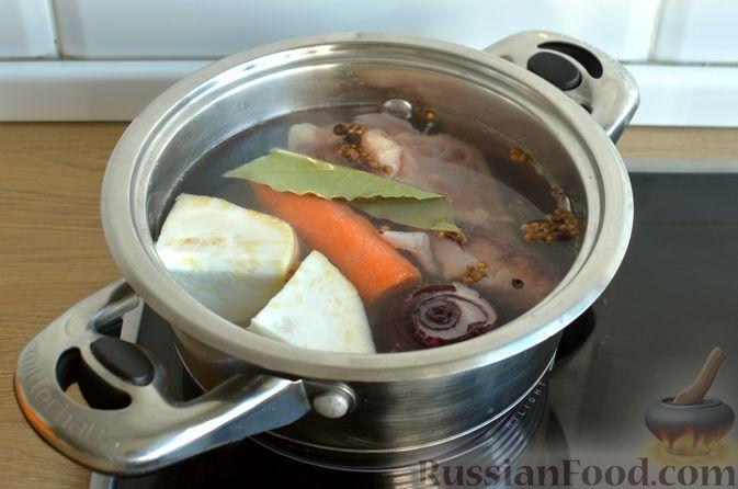 Фото приготовления рецепта: Ризотто с тыквой и беконом - шаг №2