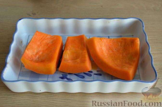 Фото приготовления рецепта: Ризотто с тыквой и беконом - шаг №3