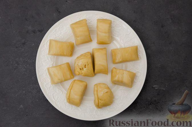 "Фото приготовления рецепта: Торт ""Наполеон"" на сковороде - шаг №14"