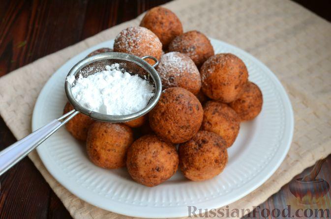 Фото приготовления рецепта: Творожные пончики с маком - шаг №10