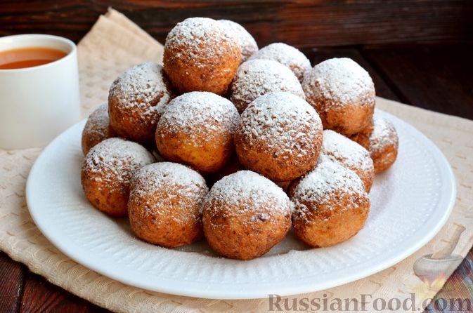 Фото приготовления рецепта: Творожные пончики с маком - шаг №11