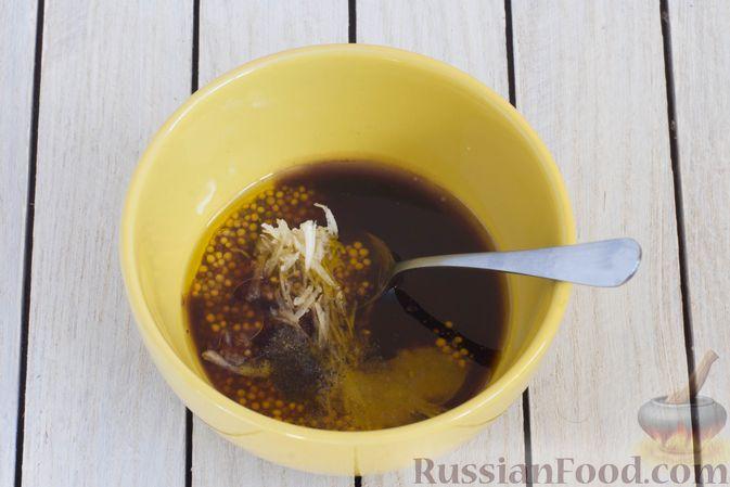 Фото приготовления рецепта: Кольраби, свёкла, картофель и морковь, запечённые с бальзамическим соусом - шаг №2