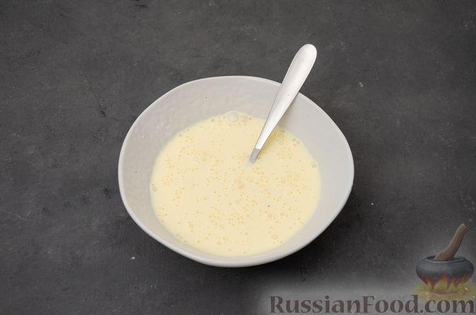Фото приготовления рецепта: Картофельная запеканка с сёмгой и шпинатом - шаг №10