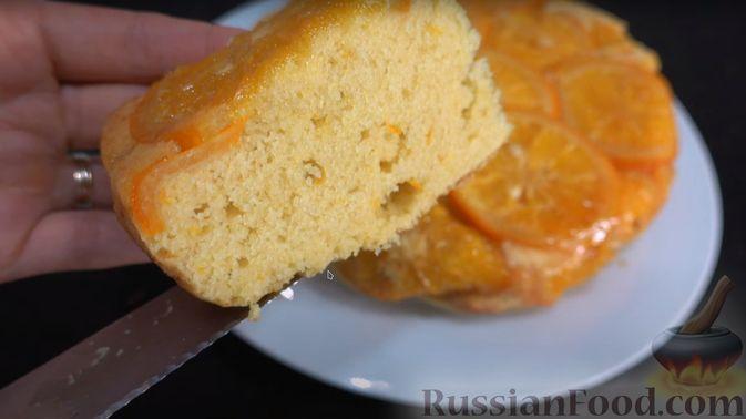 Фото приготовления рецепта: Апельсиновый пирог - шаг №4