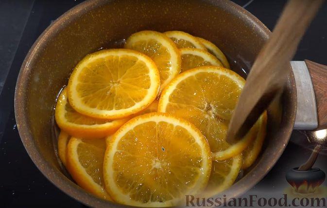 Фото приготовления рецепта: Апельсиновый пирог - шаг №2