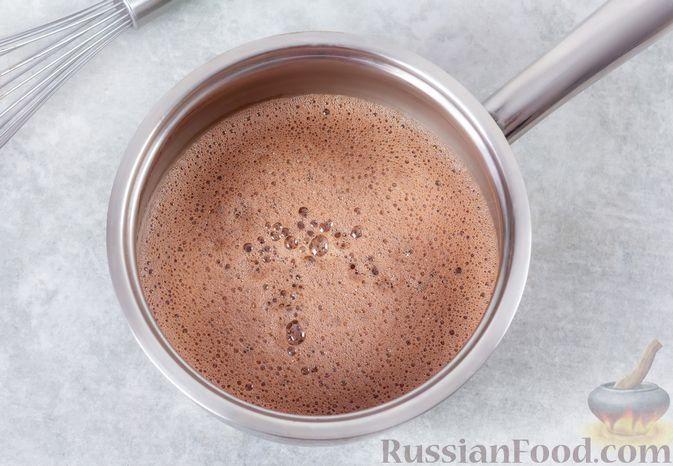 Фото приготовления рецепта: Какао-флип - шаг №8