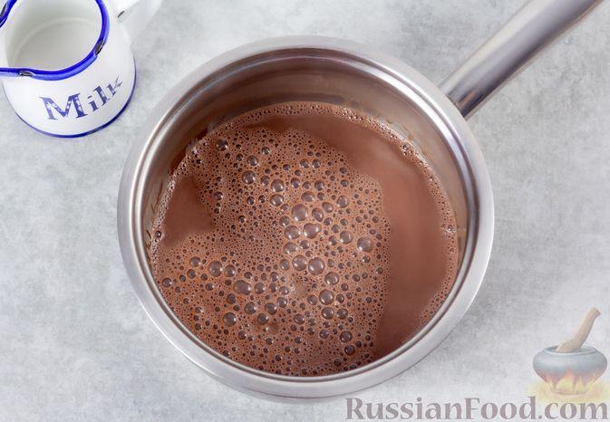 Фото приготовления рецепта: Какао-флип - шаг №6