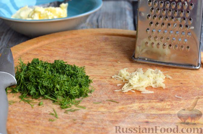 """Фото приготовления рецепта: Запечённый картофель """"как на костре"""" - шаг №5"""