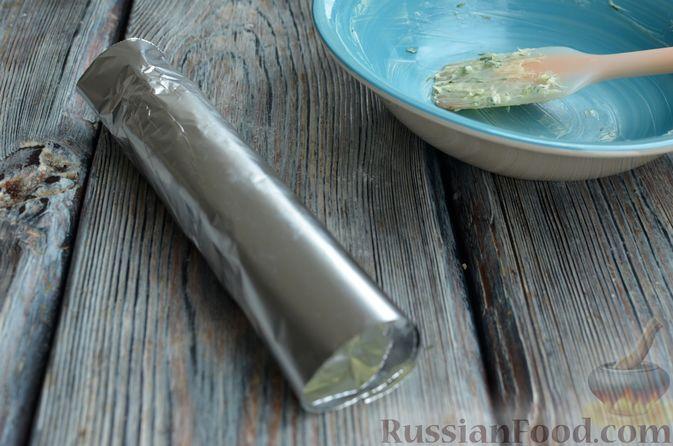 """Фото приготовления рецепта: Запечённый картофель """"как на костре"""" - шаг №8"""