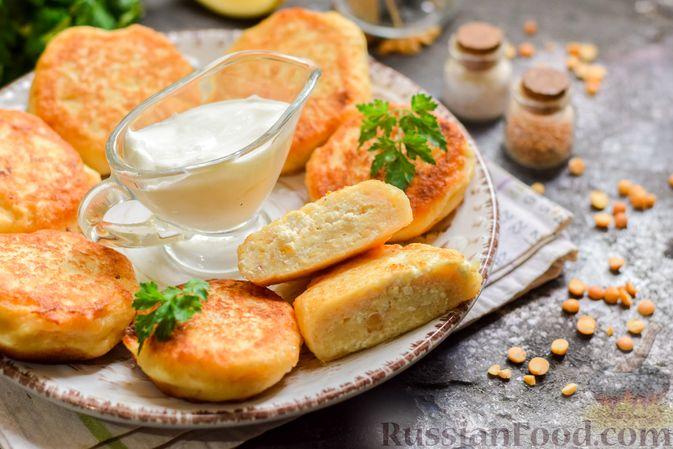 Фото к рецепту: Сырники с горохом