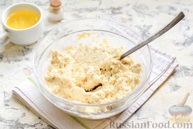 Фото приготовления рецепта: Сырники с горохом - шаг №8