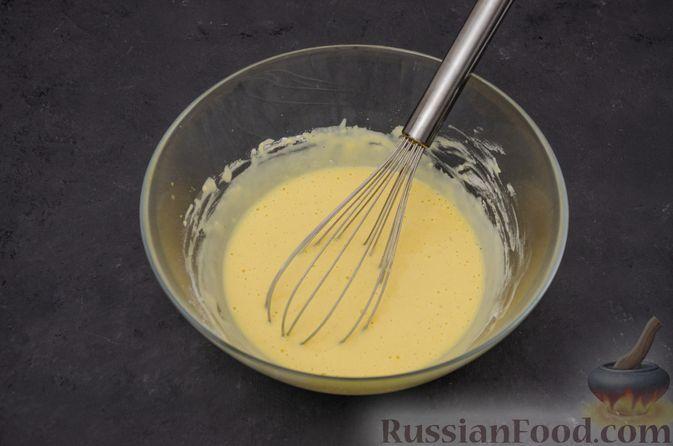 Фото приготовления рецепта: Заварные блины на кефире - шаг №6
