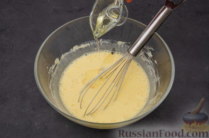 Фото приготовления рецепта: Заварные блины на кефире - шаг №8