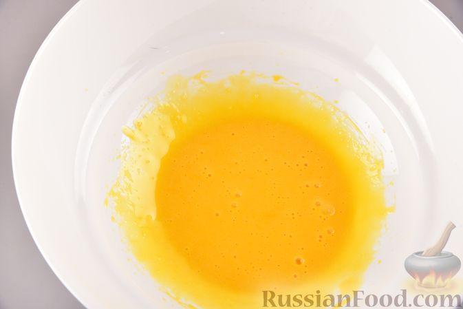 Фото приготовления рецепта: Воздушные лепёшки из творога (в духовке) - шаг №4