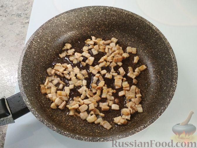 Фото приготовления рецепта: Немецкий луковый пирог - шаг №3
