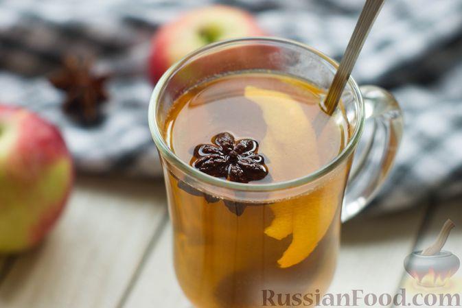 Фото приготовления рецепта: Яблочный безалкогольный глинтвейн - шаг №4