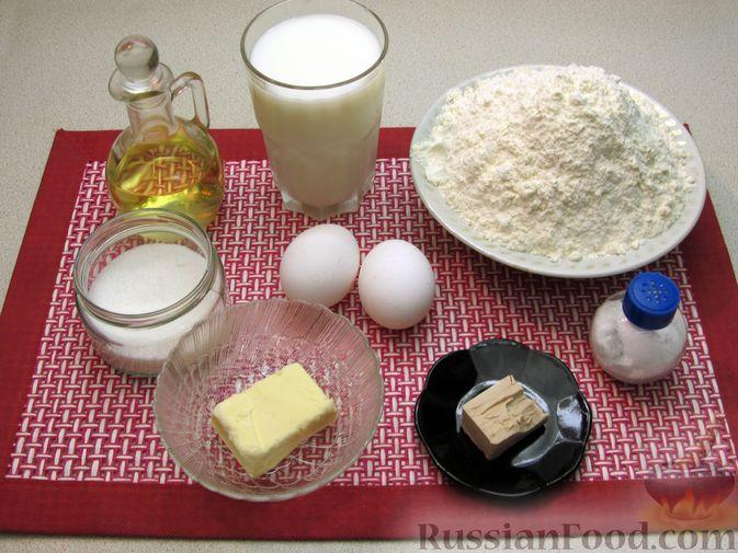 Фото приготовления рецепта: Толстые дрожжевые блины на молоке - шаг №1