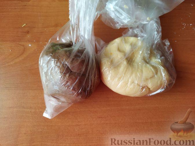 Фото приготовления рецепта: Песочное печенье с цедрой лимона и яблочным повидлом - шаг №6