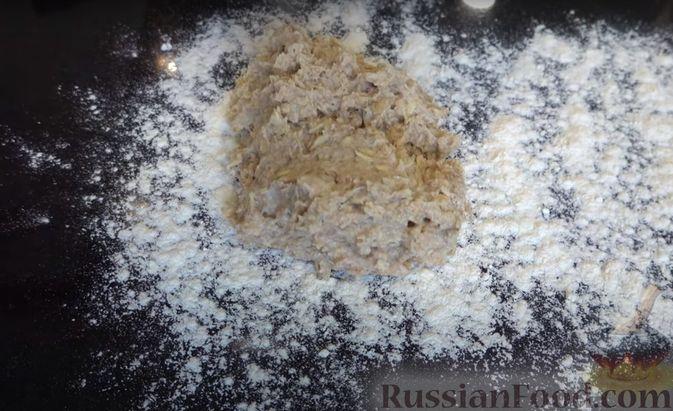 Фото приготовления рецепта: Овсяный хлеб с мёдом (по скандинавскому рецепту) - шаг №3