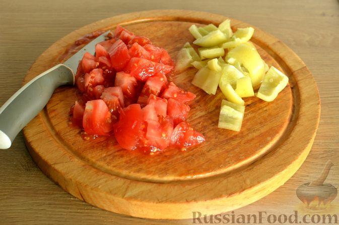 Фото приготовления рецепта: Суп с индейкой и овощами - шаг №7