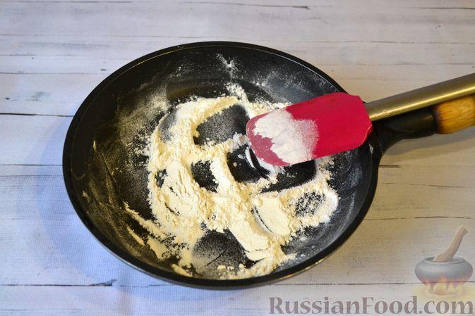 Фото приготовления рецепта: Запеканка из макарон с мясным фаршем и тыквой - шаг №14