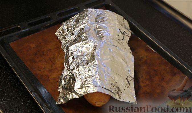 Фото приготовления рецепта: Домашний батон - шаг №20