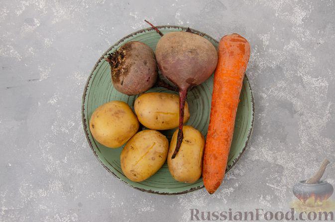 Фото приготовления рецепта: Винегрет с фасолью - шаг №5
