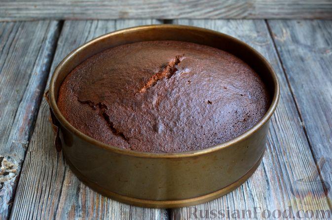Фото приготовления рецепта: Опавший шоколадный пирог с миндальной мукой, на оливковом масле - шаг №15