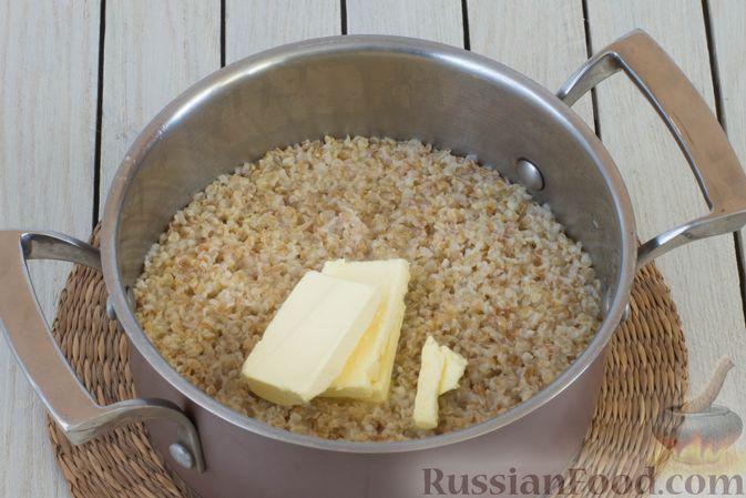 Фото приготовления рецепта: Пшеничная каша на воде - шаг №5