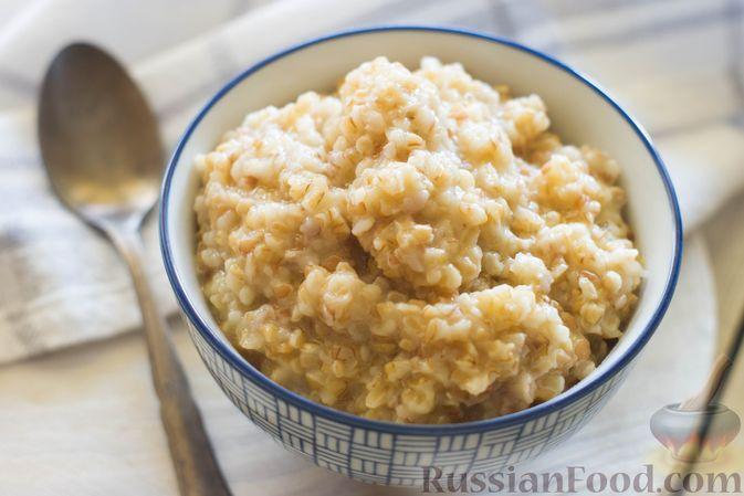 Фото приготовления рецепта: Пшеничная каша на воде - шаг №7