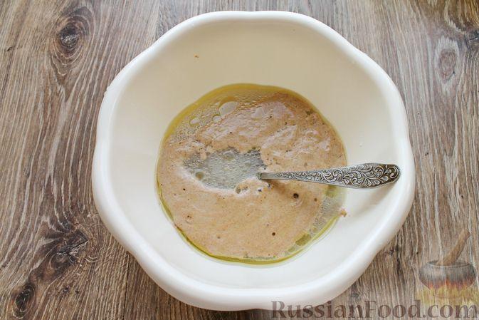 Фото приготовления рецепта: Домашний хлеб из цельнозерновой муки - шаг №7