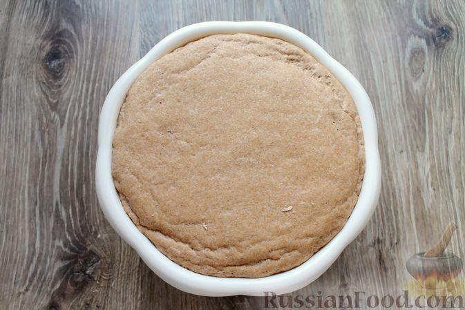 Фото приготовления рецепта: Домашний хлеб из цельнозерновой муки - шаг №10
