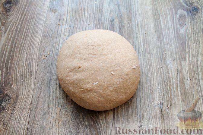 Фото приготовления рецепта: Домашний хлеб из цельнозерновой муки - шаг №12