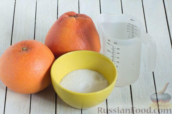 Фото приготовления рецепта: Цукаты из грейпфрута - шаг №1