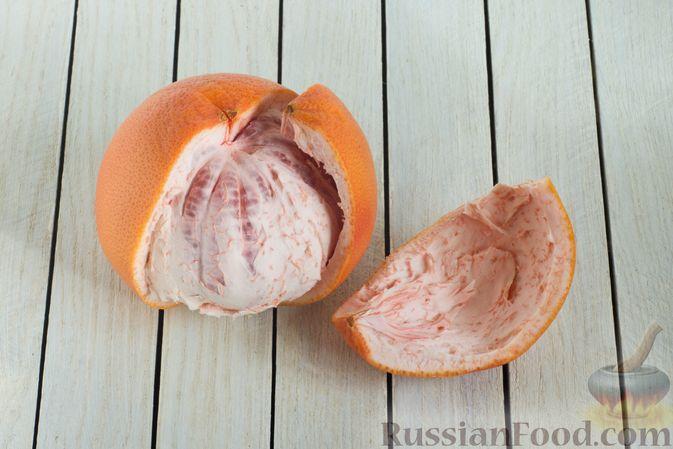 Фото приготовления рецепта: Цукаты из грейпфрута - шаг №2