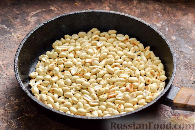 Фото приготовления рецепта: Арахисовая паста для бутербродов - шаг №2