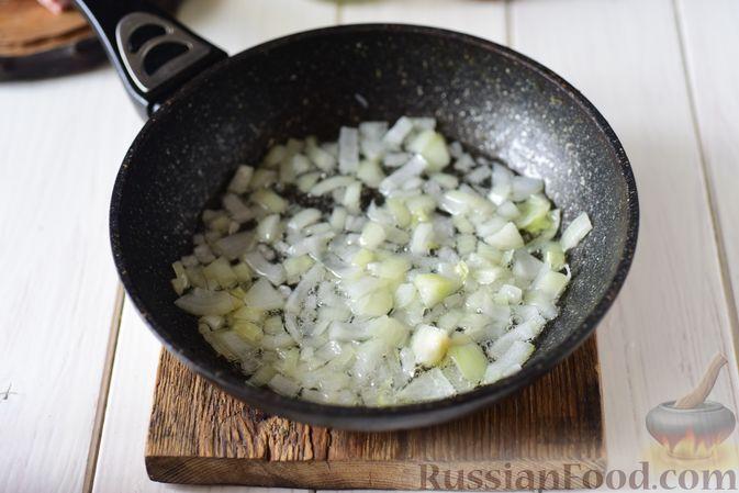 Фото приготовления рецепта: Гороховая каша с колбасой - шаг №6