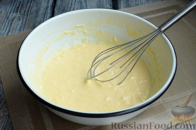 Фото приготовления рецепта: Сырный рулет с мясным фаршем (в духовке) - шаг №3