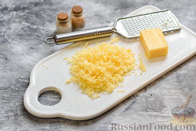 Фото приготовления рецепта: Макароны с курицей и тыквой - шаг №9