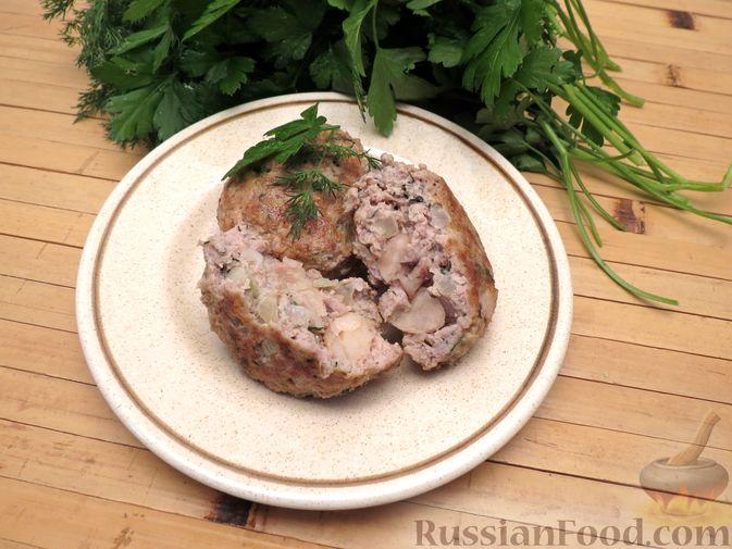 Фото приготовления рецепта: Куриные зразы с консервированной фасолью - шаг №8