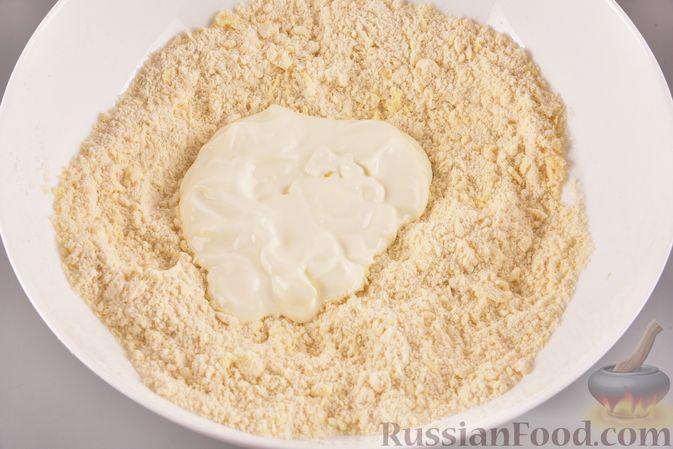 Фото приготовления рецепта: Гата с ореховой начинкой - шаг №4