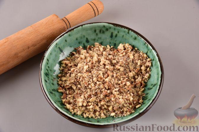 Фото приготовления рецепта: Гата с ореховой начинкой - шаг №9
